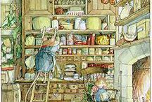 Brambly Hedge / Brambly Hedge, Foxwood Tales, Peter rabbit and Lilliput Lane. / by Kirralee Wilson