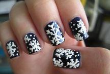 Christmas Nail Art / Ho Ho Ho, make Christmas special with original Christmas nail art.. / by Amanda Lee