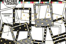 Borders and Frames Clip Art / Thank you for visiting! The 3AM Teacher Clip Art original illustrations by Michelle Tsivgadellis. Custom, hand-drawn clip art for teachers, crafters and TPT sellers.  Commercial use okay {restrictions apply}. Visit my complete terms of use on my website by clicking the link here:  http://www.3amteacher.com/clipart-terms-of-use.html