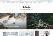 Web Inspiration / Inspirational Wordpress Themes 2016
