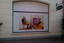 Layout / Creazione di manifesti per negozio Marc By Marc Jacobs,  Noventa di Piave.