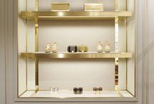 Details - Shelving niches etc / by Claudia Mitcham