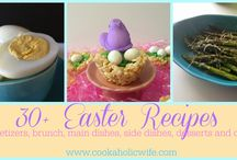 Recipe Roundup - Cookaholic Wife / Collections of recipes for holidays and by theme from my blog, www.cookaholicwife.com