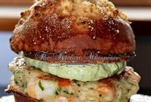 Seafood Burgers/Patties