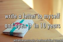 bucket list....to do / by Lori Ashbaugh McCully