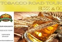 Buzz & Go! Tour / Highlights of our NatuRaleigh tour. Runs every Wednesday-Saturday.  Advanced ticket purchase required. 1-4pm. http://www.tobaccoroadtours.com/raleigh-city-sightseeing-taste-tour/