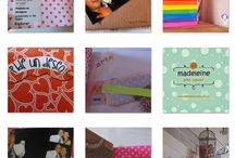 Gifts para cumples infantiles / Scrapbook reciclado by Madeleine Cuisine