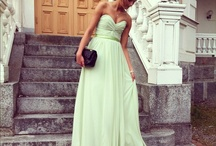 Evening dress fashion