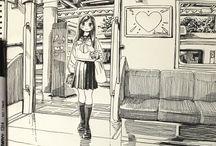 배경-흑백