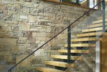 Stair banisters / Ideas for stairs - wood, glass, steel