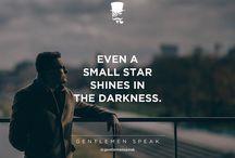 Gentlemen speak