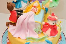 Sleeping beauty cakes