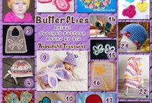 Farfalle - Butterflies Crochet