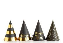 New Year and New Years Eve / How to throw a New Years Eve Party, New Year Resolution Tips, New Years Decorations, NYE Decor