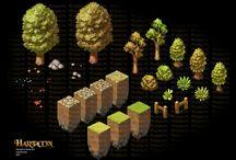 Game Art - Enviro - Isometric