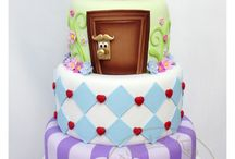 Fondant covered cakes / Cakes