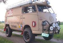 Vehicles for overlanding