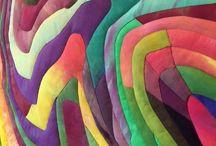 Arte de tela / patchwork artistico