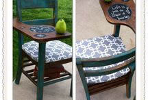Repurpose with a Purpose! / Up cycled and refinished items. Portions of the proceeds from sales will go towards the medical bills of a local family.