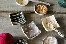 Pottery - Color & Pattern inspirations