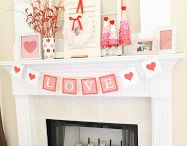 Valentine home decoration