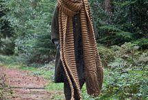 Grove sjaals enzo