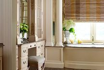 Bathrooms by Wilson Kelsey Design / From a grand master bathroom to a jewel box of a powder room, bathrooms come in all shapes and sizes.  Here are some of our bathroom projects to inspire you!
