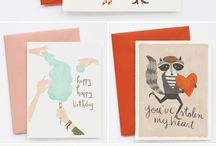 Cards, stationery design, creative, inspirations and illustrations