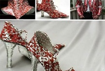 Soda can shoes