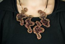 vmikro abstract necklaces