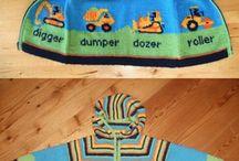 childrens knitting