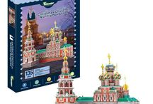 Educational 3D Puzzles / Educational 3D Jigsaw Puzzles for young and old