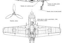 aeroplane blueprint