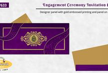 ENGAGEMENT CARDS / Celebrate Your Beautiful Occasion in style with Our Engagement Invitations