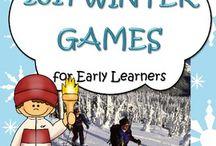 Olympics Kindergarten