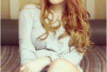 Photo - Red hair woman
