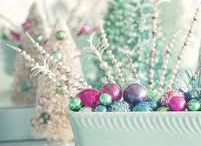 Christmas pastels