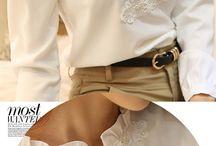 blusas romântica