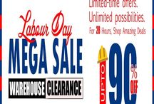 Offer Maga Deal / Shop our Labour Day Sale and find great deals on seasonal Home Décor.  You'll find great discounts on bed linen and towels, during our Labour Day sale; you can enjoy low prices on summer clearance items. www.cottonaffairs.com.au