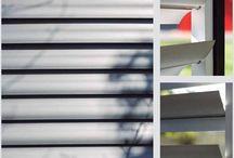 Aerowing / Sistema de quiebravista móvil, con un esbelto diseño para revestir fachadas de edificios, su principal característica tiene que ver con la solución en la protección solar pasiva, proporcionando un mayor confort y ahorro energético.