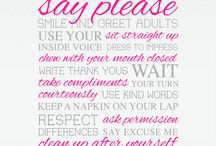 Mind your manners....  :)