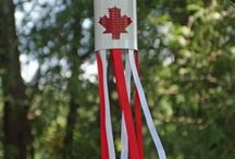 Canada Day Crafts / by Patti Blogs