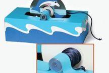 Delfintücherbox