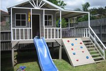 Cubby house ideas / Finding that perfect harmony between kids an garden space learn n grow