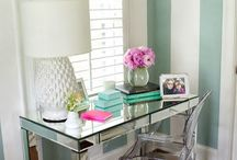 Vanity, Makeup & Writing Tables / Beauty & Makeup Organization + Stationery & Writing Spaces