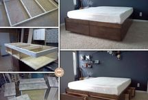 Storage Drawer Beds / This collection of beds have storage solutions built into them