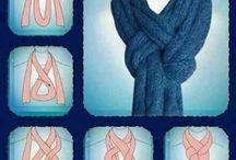 Schals binden