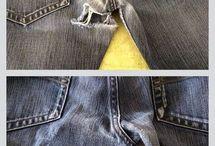 spijkerbroeken herstellen