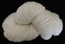 Silk & Silk Blends Undyed Yarns / CATNIP YARNS • First quality undyed silk & silk blends yarns - ready to be dyed or used in the natural color