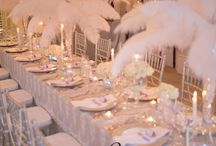 Table Decorating in white